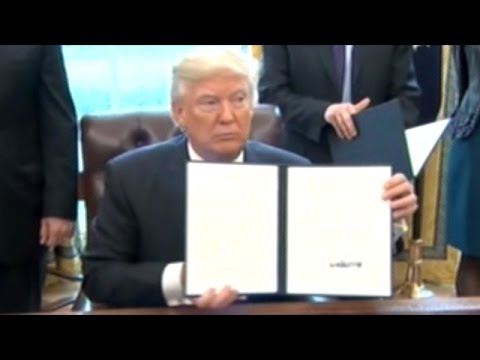 Canadian MSM Excited About President Trump's Executive Order On Keystone Pipeline!