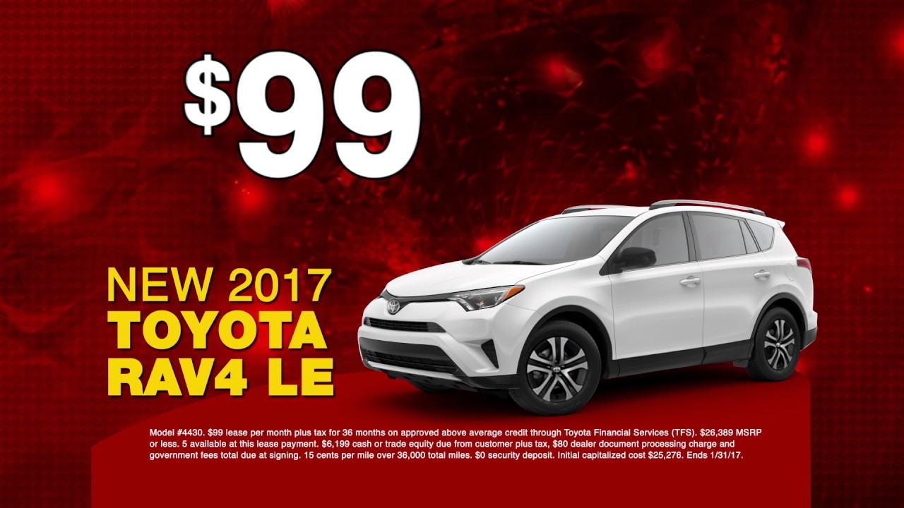 Rav4 lease deals 2018