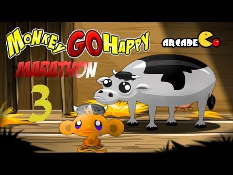 Monkey GO Happy Marathon 3 Walkthrough HD