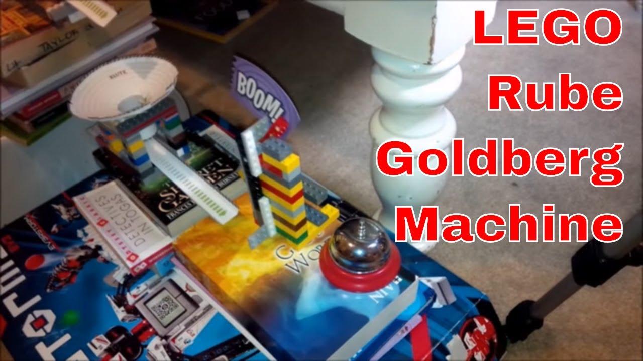 LEGO Rube Goldberg Machine - YouTube
