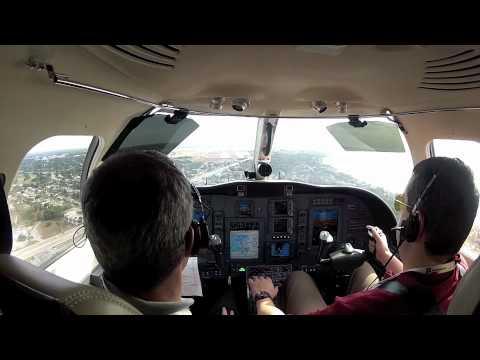 CJ3 landing