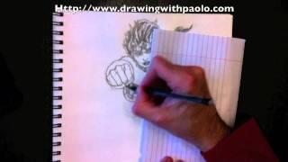 comment dessiner un ecureuil avec paolo