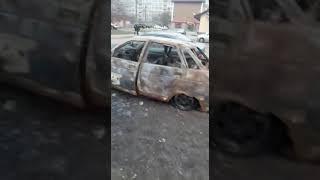 Поджоги автомобилей в городе Майкопе, Республика Адыгея!