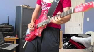 New Born [Muse HD Piano/Guitar Cover] - Manson Red Glitter Replica