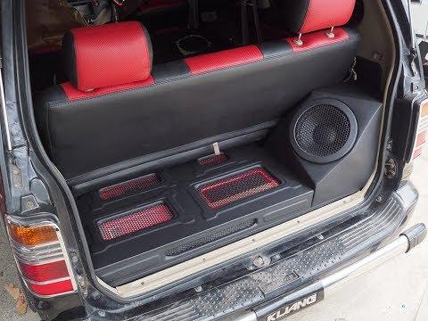 Toyota Kijang Audio Upgrade Sound Quality by Cliport Audio Bandung