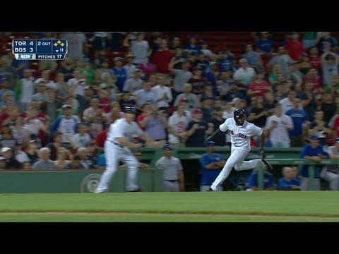 TOR@BOS: Betts Ties The Game With An RBI Single