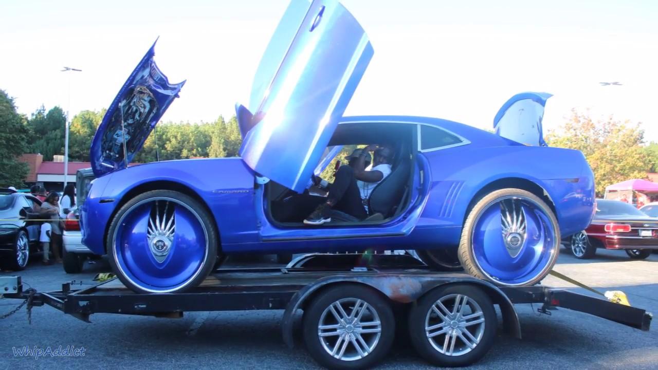 WhipAddict Chevrolet Camaro On DUB Snatch 28s Kandy