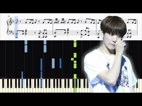 BTS - FAKE LOVE - PIANO TUTORIAL + SHEETS