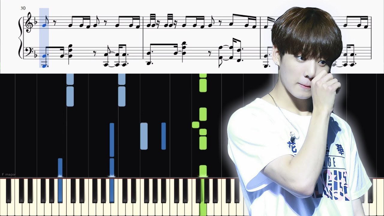 download fake love bts piano cover