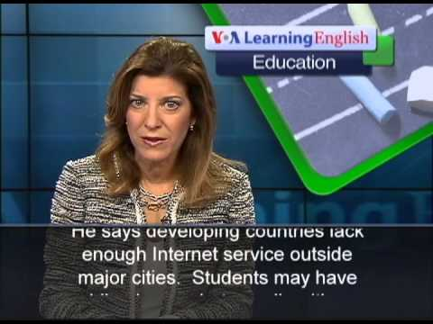 Education Project in Rwanda Combines Online Classes, Local Help voa special english 2013