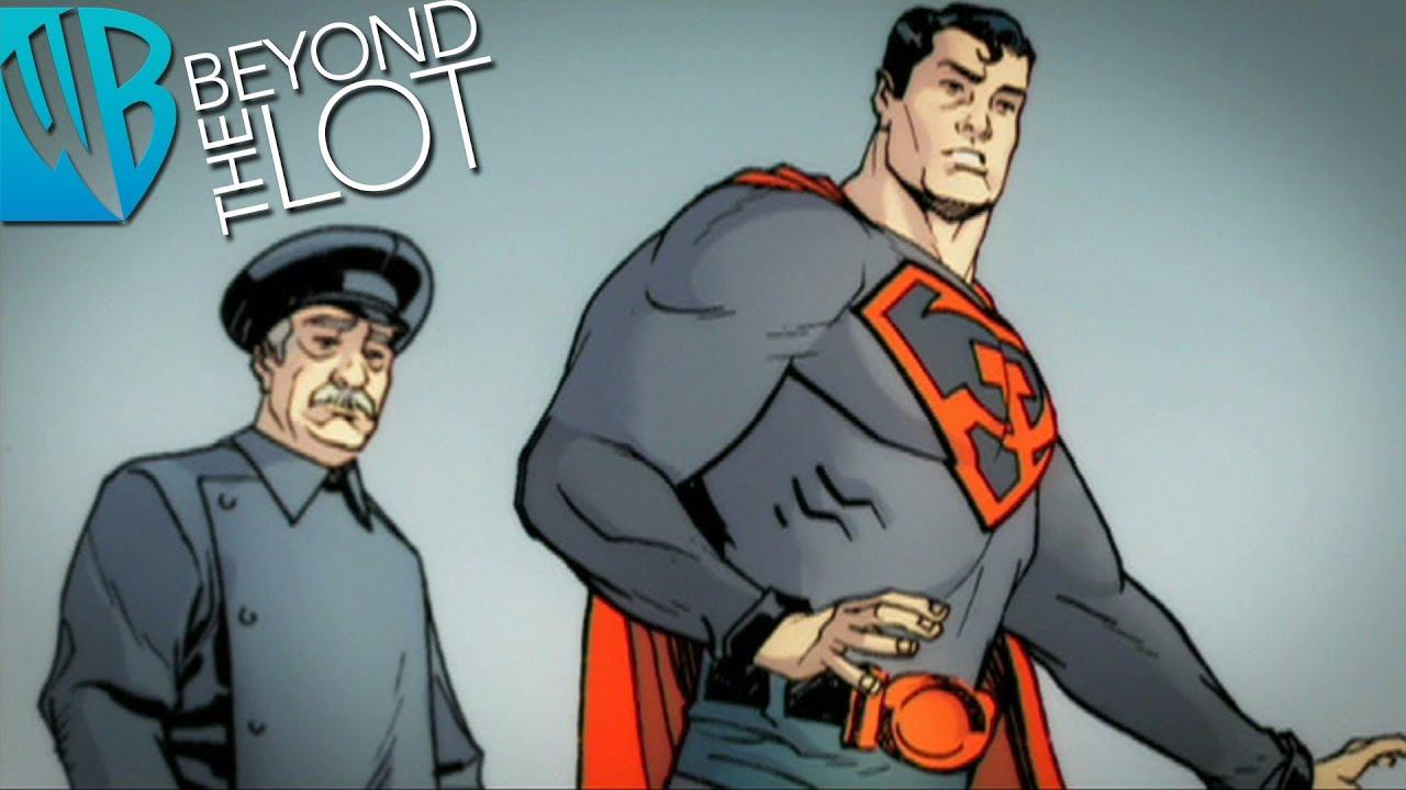 Superman Red Son Motion Comics Ep 4 The Soviet Celebration Youtube