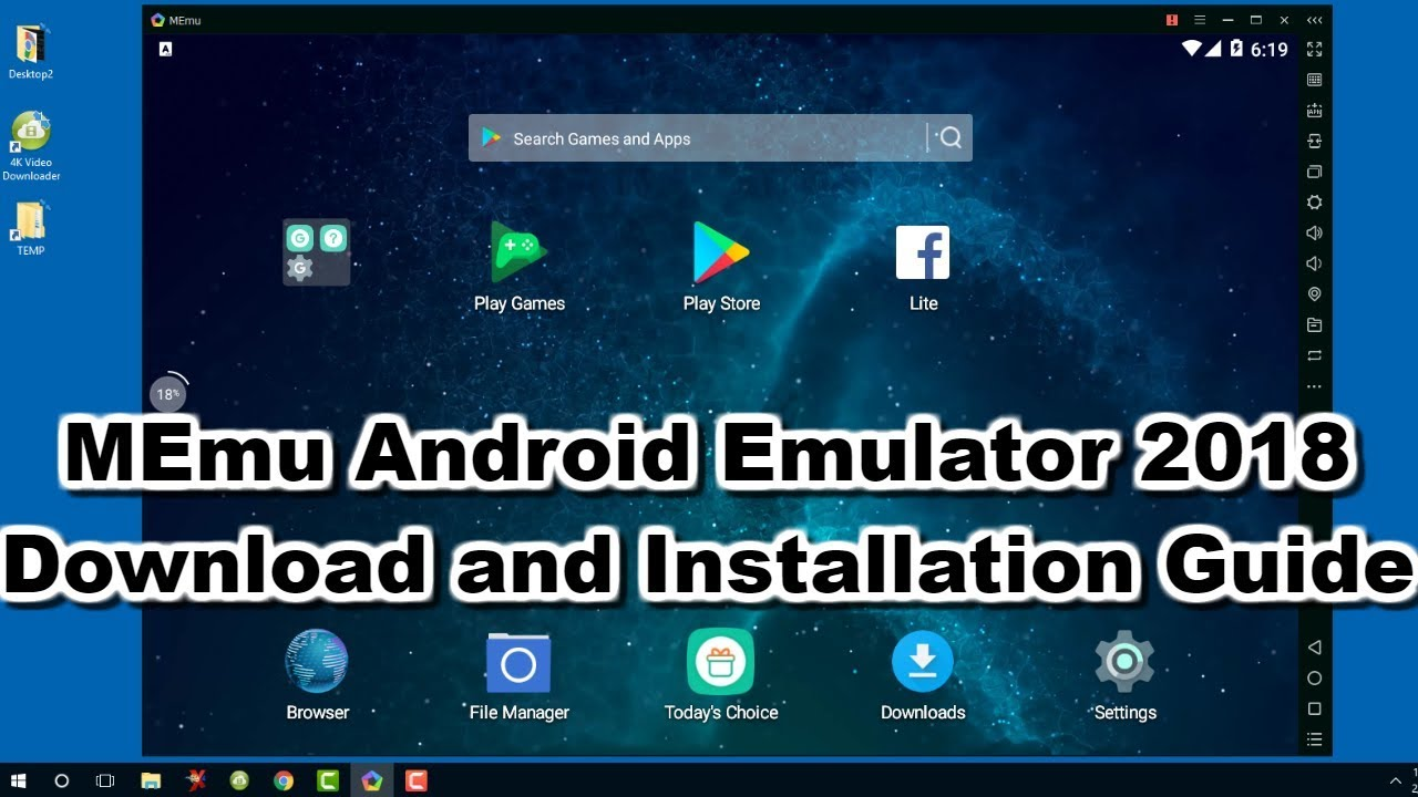 android emulator windows 10 torrent
