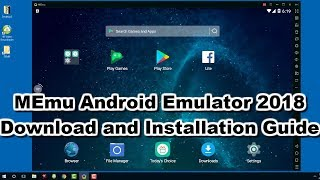 Video MEmu Play 2018 - Download and Install  Android Emulator on any Windows download MP3, 3GP, MP4, WEBM, AVI, FLV Juni 2018