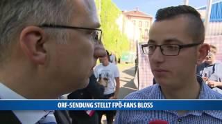 """FPÖ-Fans in """"Willkommen Österreich"""" bloßgestellt"""