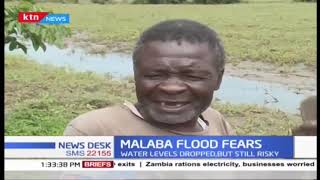 Residents of Malaba town living in fear over possible floods