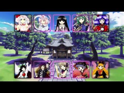 Touhou Project (Windows) - All Final Boss Themes (2002 - 2016)