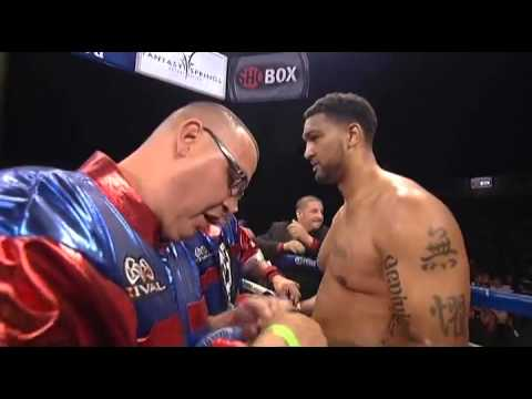 Dominic Breazeale Vs Curtistate Youtube