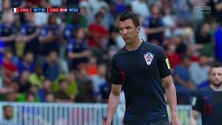 World Cup 2018 Finals France vs Croatia Full Match Sim Quick Look (FIFA 18 World Cup)