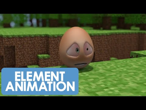 An Egg's Guide to Minecraft - PART 3 - Who the hell are you?! (Minecraft Animation)