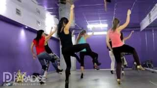 Beyonce-Partition  (Strip dance for beginners) choreography by Katya Flash