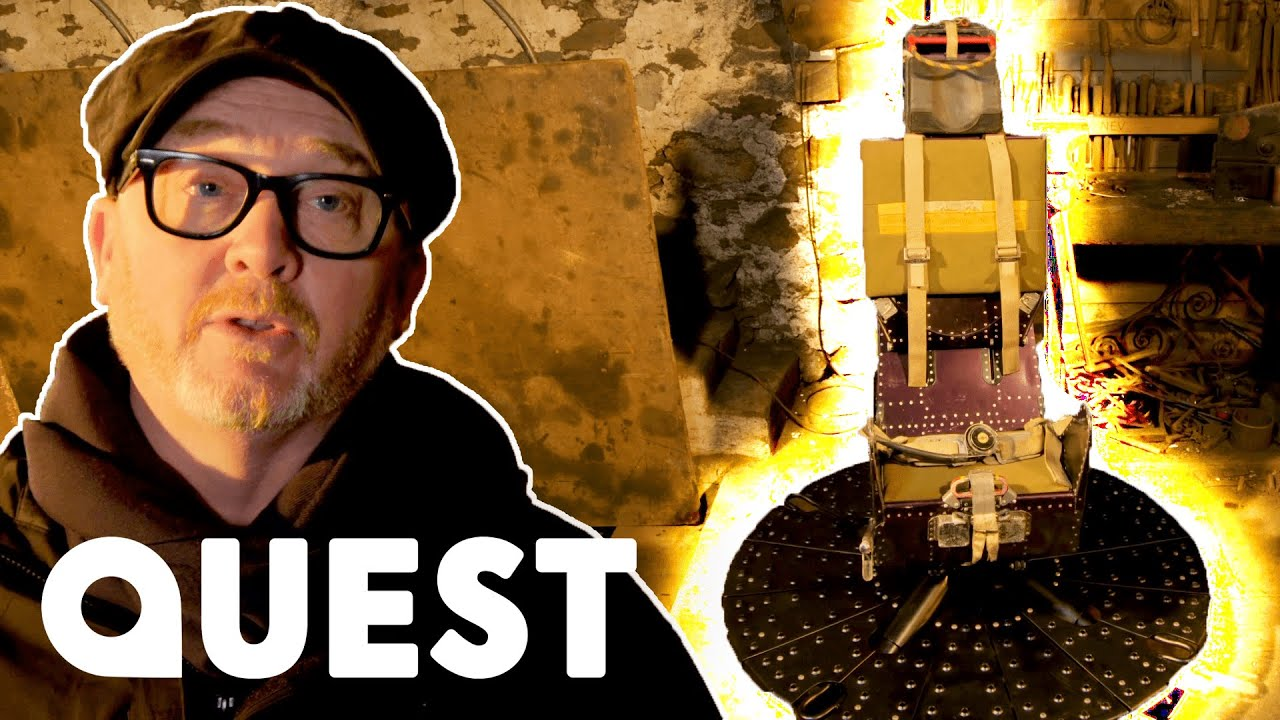 Drew Turns Jet Fighter Ejector Seat Into A Gaming Chair | Salvage Hunters: The Restorers