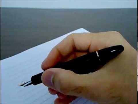 8d60ee96f48 montblanc 146 (análise de caneta tinteiro - fountain pen review ...