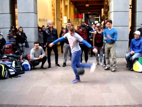 Break dance in Milano 2014
