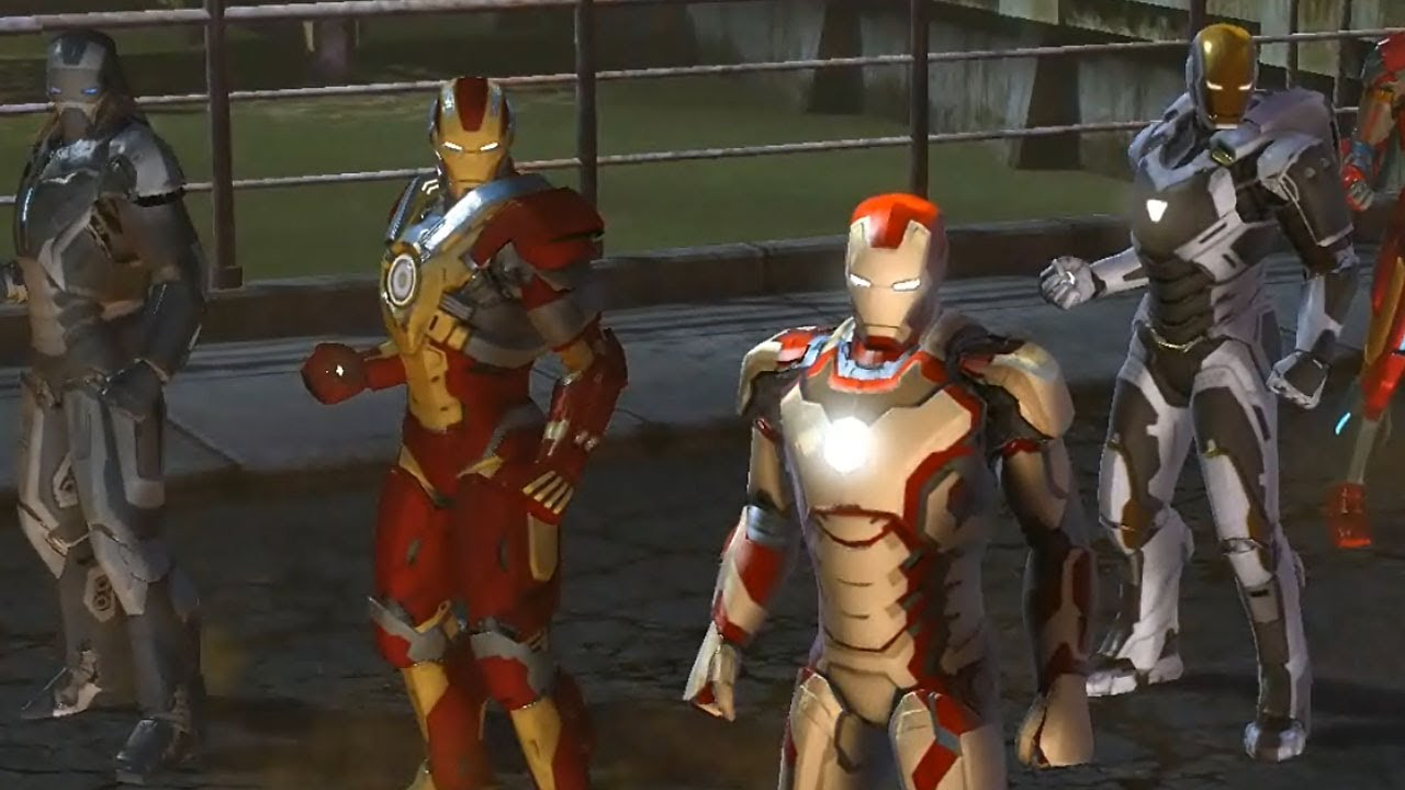 Cgr Trailers Marvel Heroes Iron Man 3 Special Suits