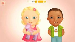 Baby Doll House Take Care of Cute Baby Girl Alice & Make a Birthday Cake , Baby Care Game