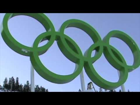 Flying in the Olympic Rings, Dec. 4, 2009