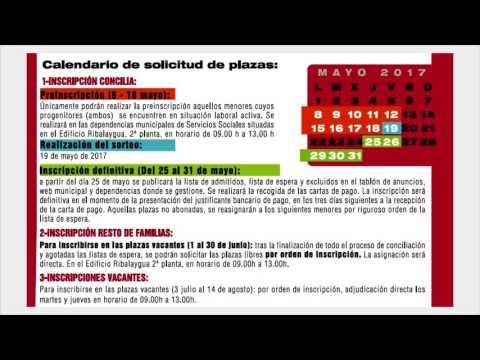 Inscripciones El Veranuco 2017