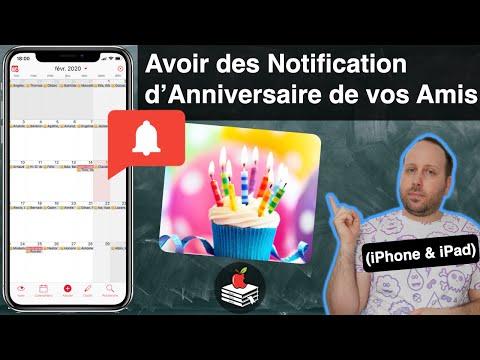 iPhone, Ne loupez aucun Anniversaire de vos Proches (iPhone, iPad, Mac) - Ecole iPhone n°22