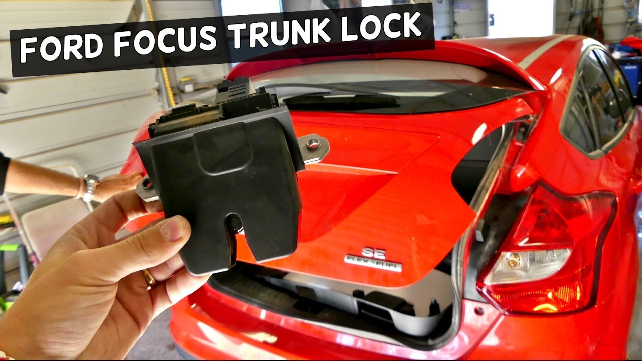 Ford Focus Mk3 Trunk Lock Replacement Hatch Door Lock