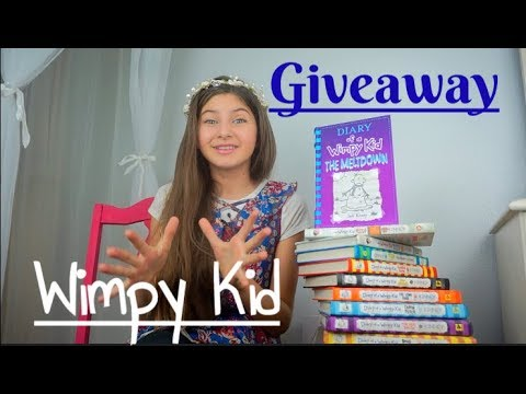 Diary of A Wimpy Kid 'The MELTDOWN'  Giveaway