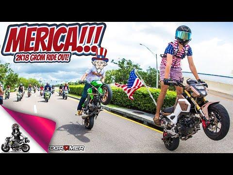 2018 Honda Grom Merica Group Ride