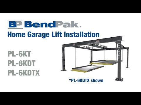 hqdefault bendpak home garage car lift installation youtube  at readyjetset.co