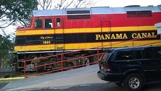 The Panama Canal Railway- April 2014