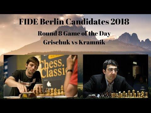 FIDE Berlin Candidates 2018 | Grischuk vs Kramnik