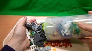 さいたま新都心に新しくできたコクーン2内のレゴストアにて、レゴ詰め放...