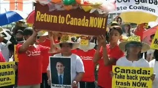 The Philippines recalls envoys in Canada over trash shipments