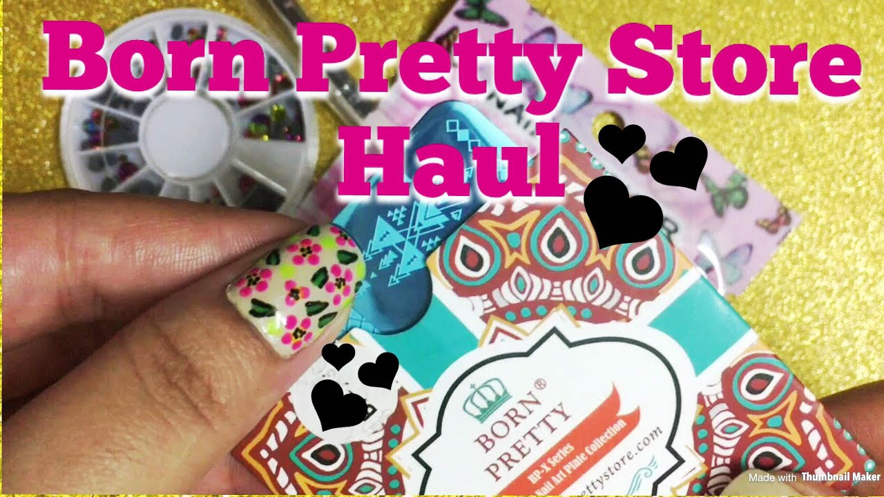 Born Pretty Store Haul/ Nail art supplies haul from Born Pretty ...