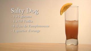 Cocktail Salty Dog