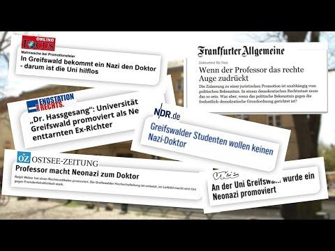 Nachgefragt: Rechte Strukturen an der Universität Greifswald?