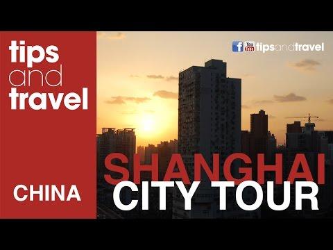 City Tour Shanghai, China - En el Big Bus Tour