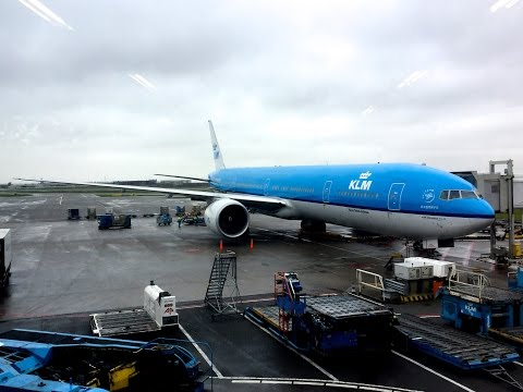 KLM B777 World Business Class | Amsterdam to Lima
