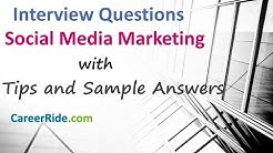Social Media Marketing Interview Questions and Answers - For Beginners and Experienced