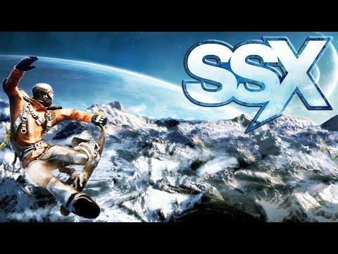 SSX - Showcase - игра про сноуборд и трюки