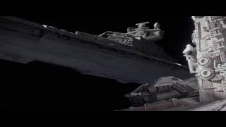 Star Wars Rogue One Space Battle Scene