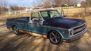 1970 Chevy C20, C10 Custom Patina Texas Truck