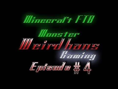 FTB Monster - Episode 4 - Building the Tinker's Construct Furnace - Let's Play Minecraft